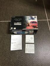 SOLO SCATOLA BOX Sony PlayStation PSP 1004 Bianca Ed. WRC [LEGGI DESCRIZIONE]