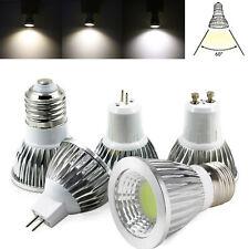 Dimmable GU10 LED Spotlight MR16 GU5.3 E27 E12 B22 6W 9W 12W COB Lamp Bright RML