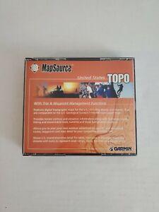 Garmin MapSource United States Topo Maps 3 Disc Version 3.02 GPS Navigation