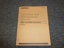 Caterpillar CAT 322B L 325B L Excavator Digger Owner Operator Maintenance Manual