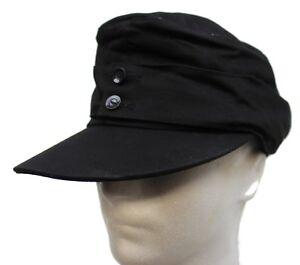 GERMAN ARMY WW2 STYLE M43 FIELD HAT / CAP IN BLACK by MILTEC