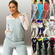 Damen Freizeitanzug Hausanzug Jogginganzug Sportanzug Sweatshirts Trainingsanzug