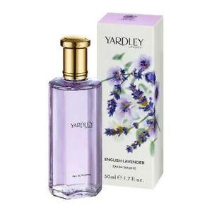 Yardley London English Lavender Eau de Toilette 50ml 1.7oz Womens Women's NEW