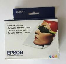 Epson C13T027201 T027 Color Ink Cartridge Epson Stylus Photo 820,925 Exp.04.2019