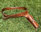 Bianchi Western Holster 1890 SA Colt Single Action .44 Left Handed Belt 40'' EUC