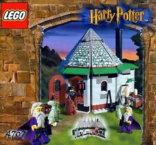 LEGO HARRY POTTER 'HAGRID'S HUT' #4707 HAGRID DUMBLEDORE 100% COMPLETE GUARANTEE
