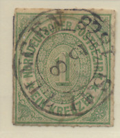 North German Confederation Stamp Scott #7, Used