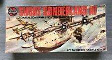 Airfix 1/72 Short Sunderland III plastic model kit