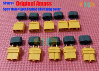 5Pairs Amass XT60 Plug H Connector & Sheath House Cover Male/Female For Lipo ESC