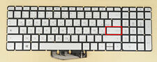 For HP Pavilion 17-g000 17-ab000 15-bc000 Keyboard Arabic French Backlit Silver