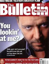 Russell Crowe You Lookin' at Me? Rare vintage Australian Magazine (Gladiator)