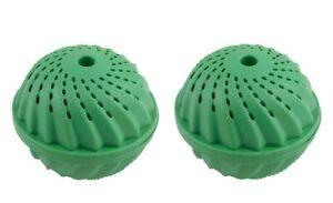 2x Waschball Waschkugel Wäsche Ball Öko Wäschereinigungskugel bis 1500 WL