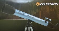 LAND & SKY CELESTRON telescope 50mm 150 magnification power w/ tripod