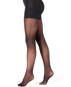 Calvin Klein Women's Ultra Fit High Waist Semi Opaque Tights Black Size M