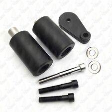 For 2003-2005 Yamaha YZF R6 2006-2009 R6S Black No Cut Frame Slider Protector