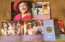 3 Uk Great Britain Commemorative Crowns 2000 & 2002 Queen Mum & 2002 Qe2 Jubilee