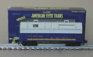 American Flyer 1919072 C&O Covered Gondola 80001 by Lionel