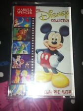 Marks & Spencer Disney Collection Cassette Tape 24 Classic Hits