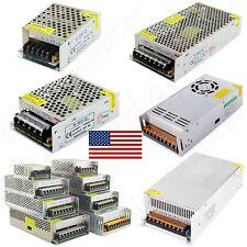 Ac 110v To Dc 12v24v 5a60a Switch Power Supply Adapter For Led Strip Camera