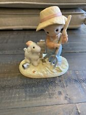 """Precious Moments Country Lane """"Fork Over Those Blessings To Other"""" Figurine"""