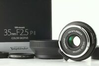 【Unused / Boxed】 Voigtlander Color-Skopar 35mm F/2.5 PII Lens M Mount From JAPAN