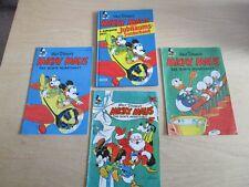 4 x Micky Maus Das Bunte Monatsheft Jubiläums-Sonderband + Reprint 1951 1952