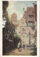 Alte Kunstpostkarte - Carl Spitzweg - Der Hochzeiter