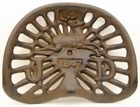 Reproduction, Collectible Cast Iron John Deere Tractor Seat Rust Color