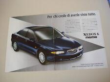 advertising Pubblicità 1994 MAZDA XEDOS 6