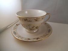 Vintage Royal Doulton Mandalay Teacup Tea Cup & Saucer White Flowers