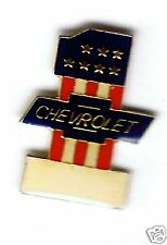 Automotive collectibles - Chevrolet (#1) tac style logo pin