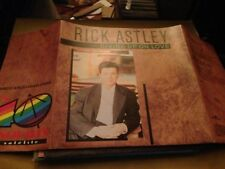 "RICK ASTLEY SPANISH RADIO PROM0 7"" SINGLE SPAIN GIVING POSTER SLEEVE"