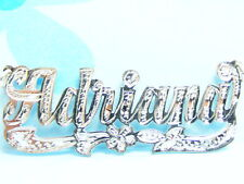 PERSONALIZED STERLING SILVER NAME PLATE NECKLACE CHAIN * US SELLER * FREE SHIP
