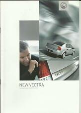 Vauxhall Vectra folleto de ventas de mayo de 2002