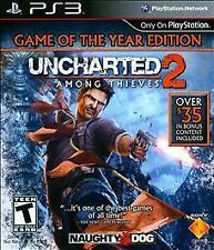 UNCHARTED 2: Among Thieves Game of the Year (PS3, Playstation 3)