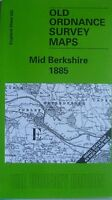 OLD Ordnance Survey Maps Mid Berkshire & District 1885  Godfrey Edition New