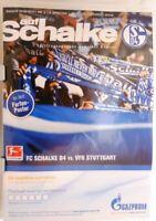 16.10.2010 + FC Schalke 04 vs. VfB Stuttgart + Programm + Kreisel #190428 +