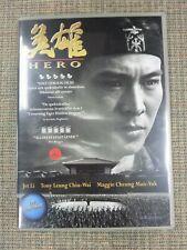 Jet Li Hero Dvd Region 2 Chinese Svenska Norska Sub Swedish Import