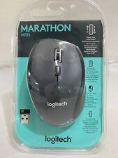 Logitech  Marathon M705 Wireless Mouse, Black New