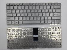 New For Sony Vaio E14 SVE14 SVE141 SVE 14 SVE14111ELW series Silver US Keyboard