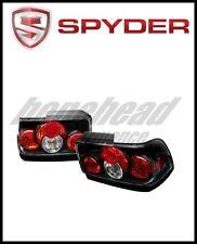 Spyder Toyota Corolla 93-97 Euro Style Tail Lights Black