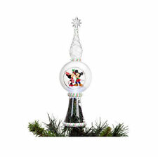 Disney Store Mickey Minnie Mouse Christmas Tree Topper --NEW
