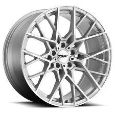 19 inch 19x8.5 Tsw Sebring Silver wheel rim 5x112 +42(Fits: Rabbit)