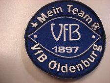 """RARITÄT ! Aufnäher """"Mein Team"""" VFB Oldenburg Fussball Fanartikel ca. 8 cm"""