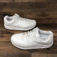 Brooks Addiction Walker Men's Athletic Shoes White Size 10.5 D