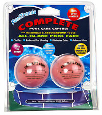 Complete Swimming Pool Chemical Care Capsules Treats up to 5,000 Gallons