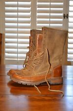 Frye women leather lace up boot Owen 7.5B
