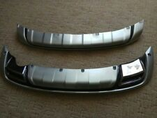 For KIA Sportage R 2011 2012 2013 ABS Chrome Front+Rear bumper cover trim