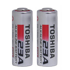Toshiba A23 Battery 12Volt 23AE 21/23 GP23 23A 23GA MN21 12v 2 Pack