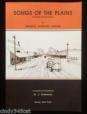 Francis Humphris Brown Australian Bourke Poet Songs of The Plains River & Road